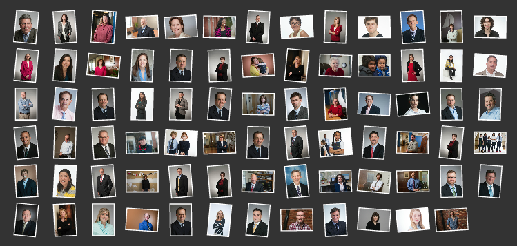 These are just some of the hundreds of headshots from 2013.